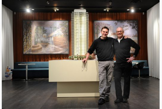 Peter and Michael provided their respective architectural representation services for The Nicholas by Urban Capital.