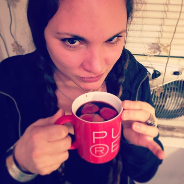 Mulled wine in a pure sensation cup