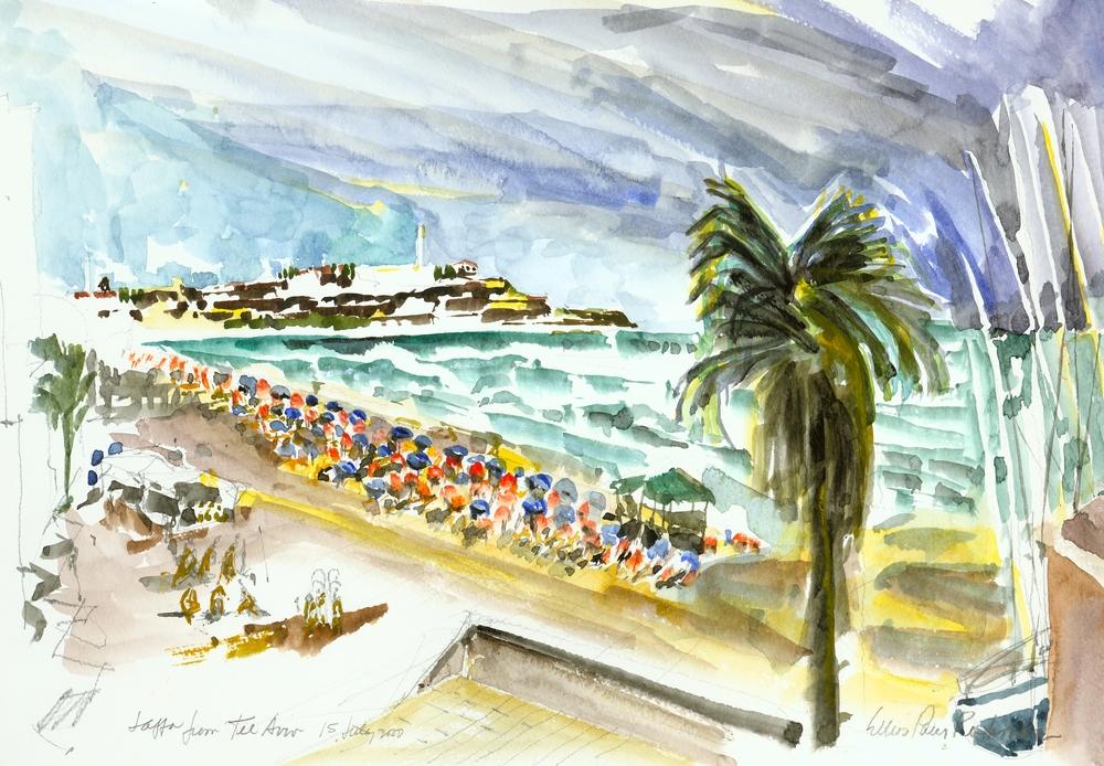 Jaffa from Tel Aviv
