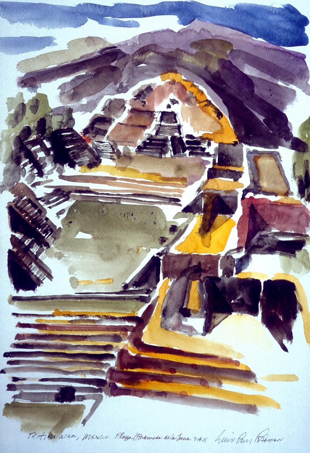 Plaza de la Luna,Teotihuacan