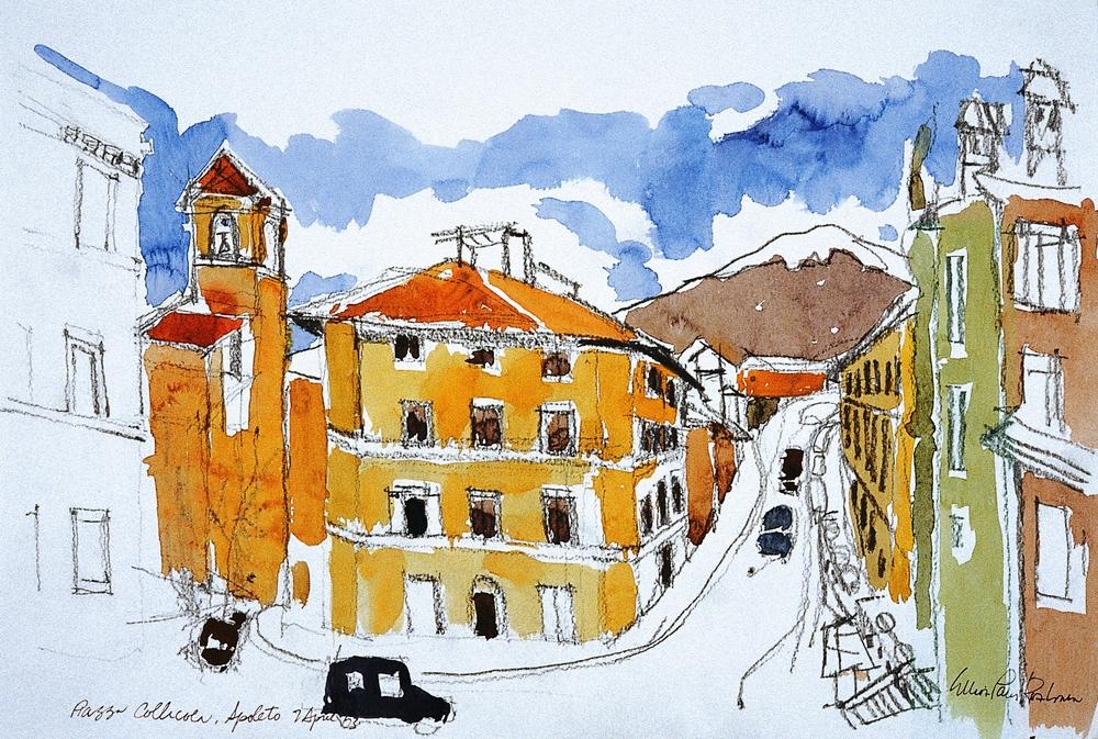Piazza Collicola, Spoleto