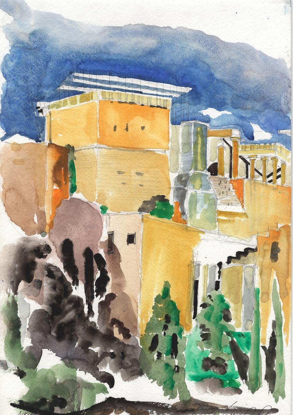 The Acropolis Athens Public Entry