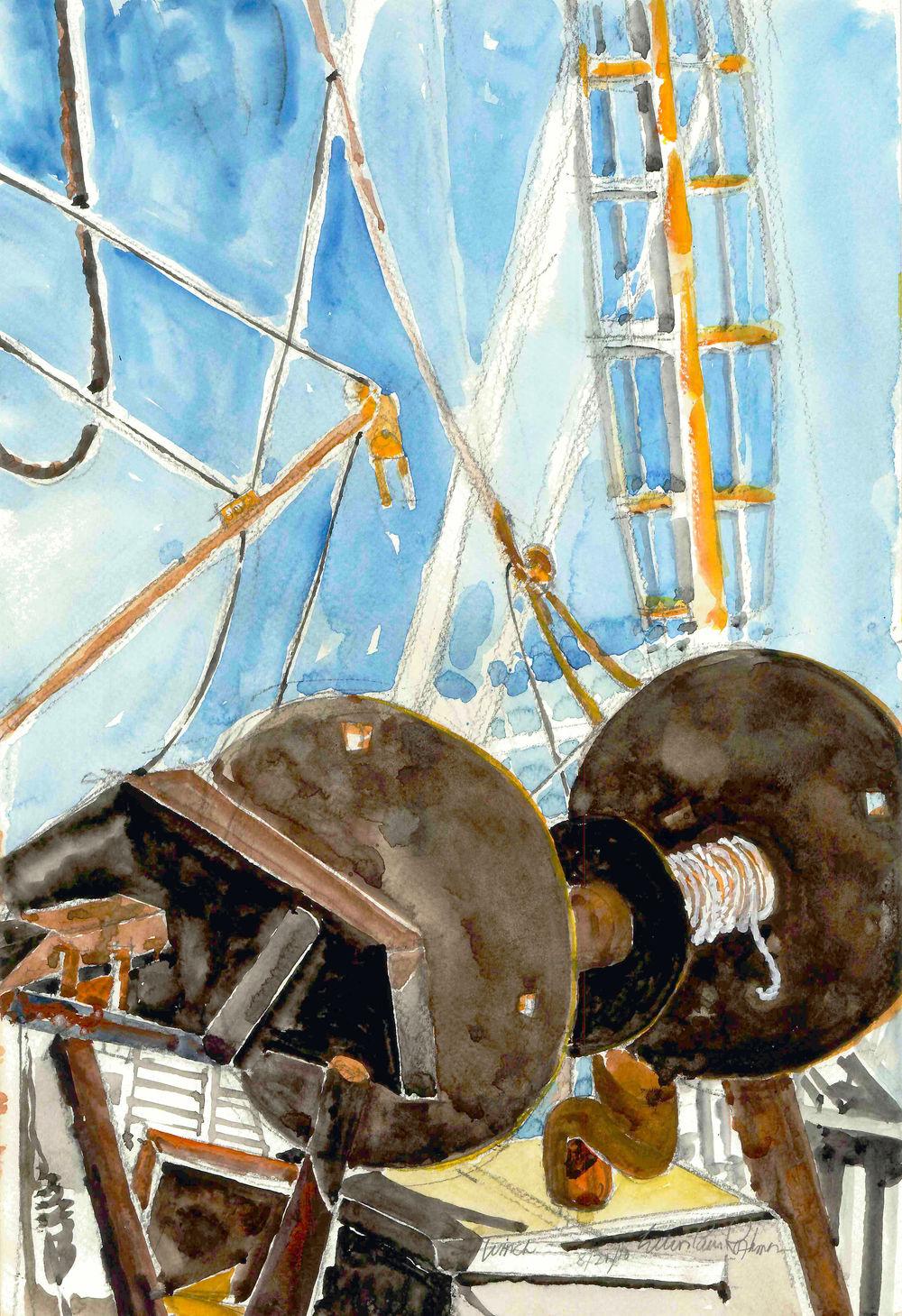 Wellfleet Fishing Fleet Winch