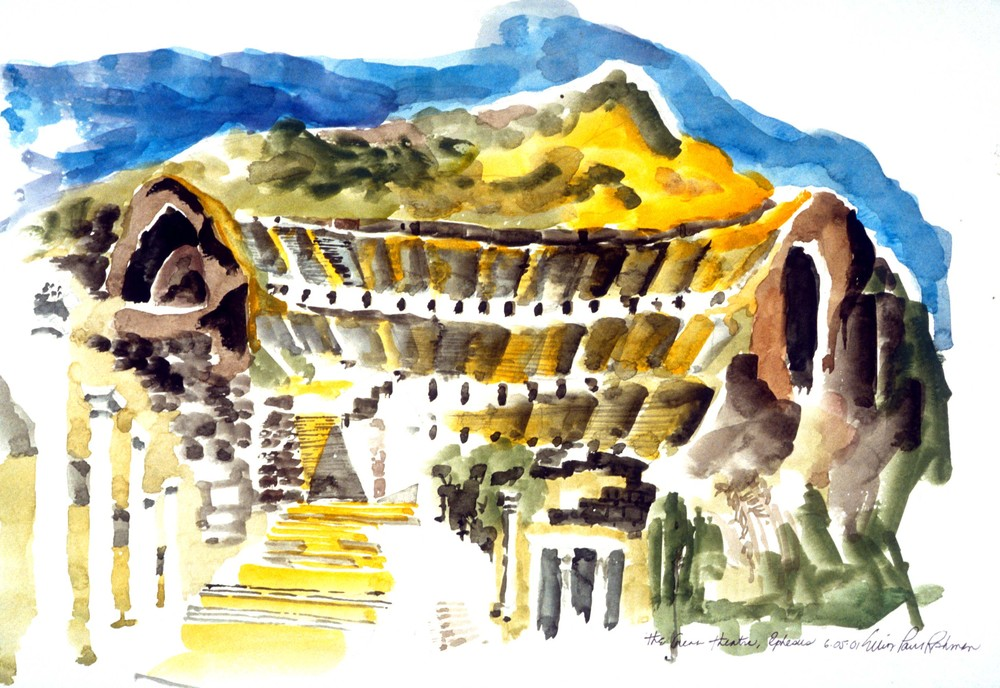 The Great Amphitheatre at Ephesus