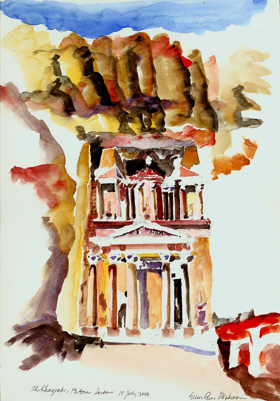 Alkacneh Treasury, Petra