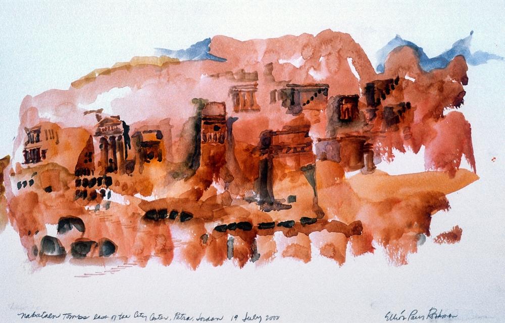Nabataen Tombs Petra