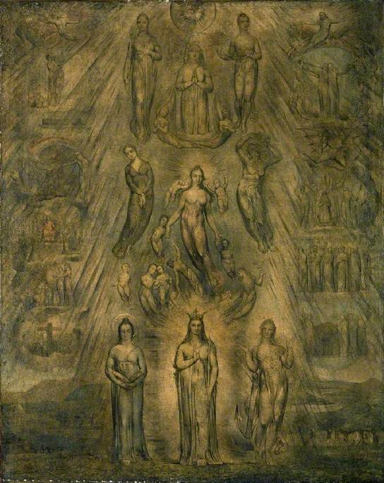 Fitzwilliam Museum Cambridge, An Allegory of the Spiritual State of Man - 1811