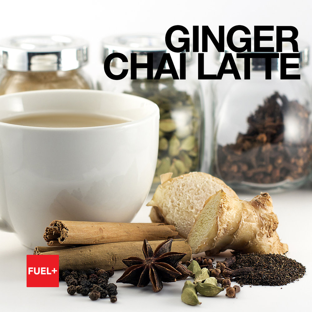 Spicy Ginger Chai Latte