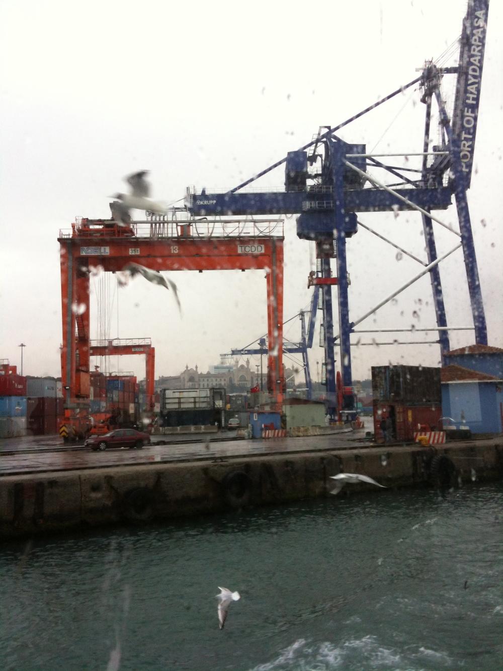 Construire. Haydarpasa, Istanbul (photo : Canan Marasligil)