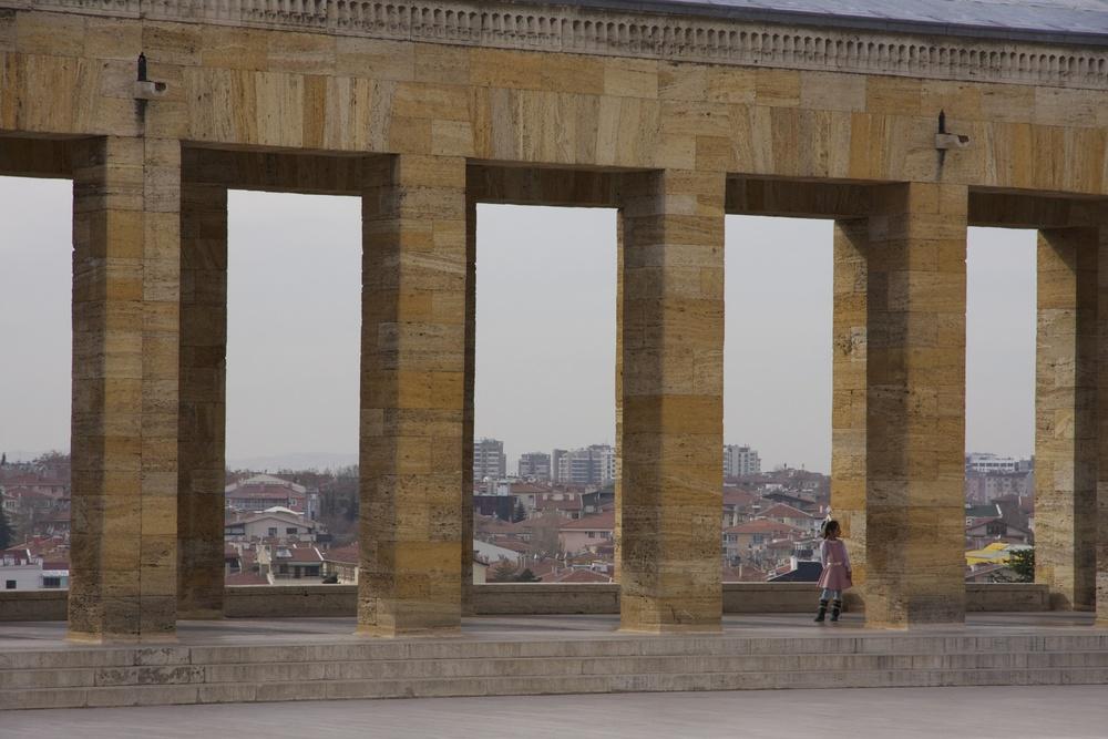 Anıtkabir, le mausolée érigé en l'honneur Mustafa Kemal Atatürk, Ankara (c) Erinç Salor.