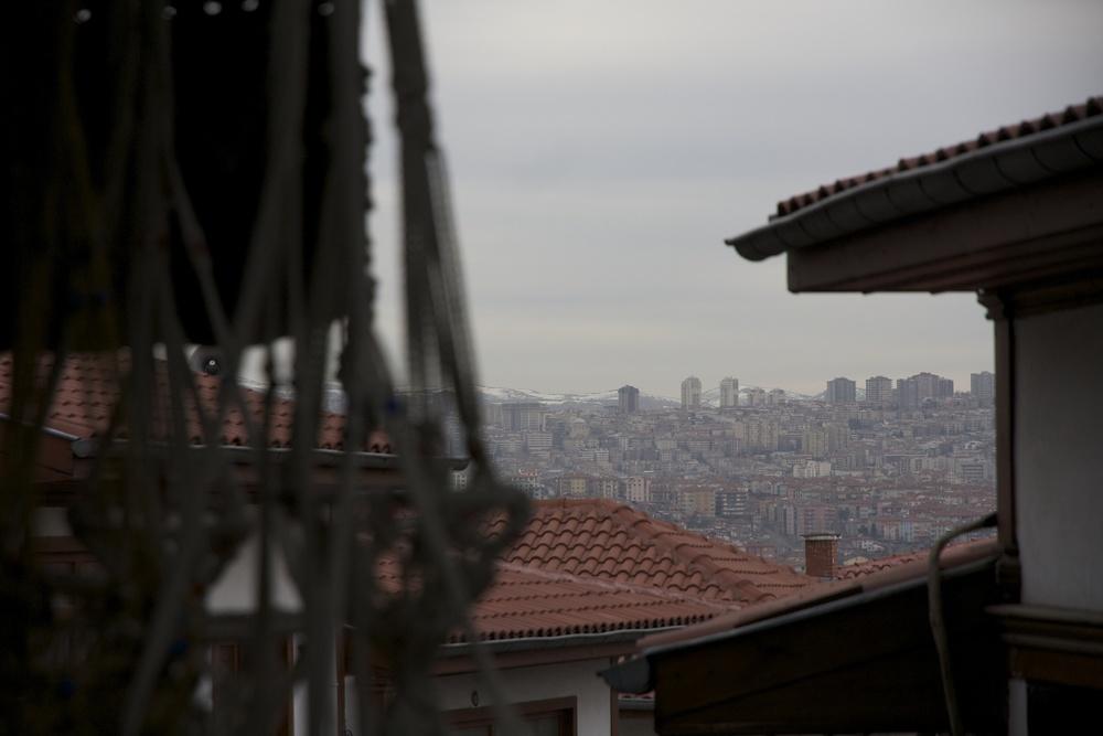 Vue depuis la vieille ville (c) Erinç Salor