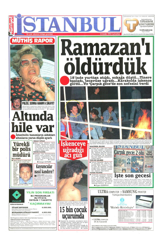 L'histoire de Ali et Ramazan a fait la une des journaux en 1992.