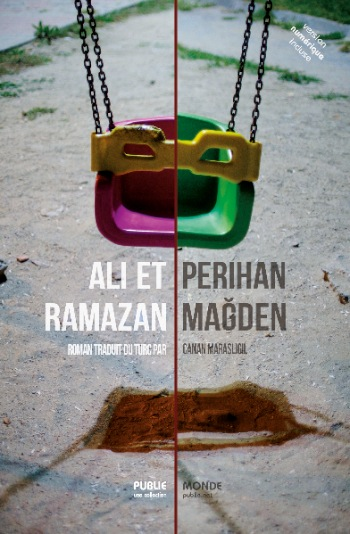 Couverture de la version papier de Ali et Ramazan. Photo ©Annakarin Quinto