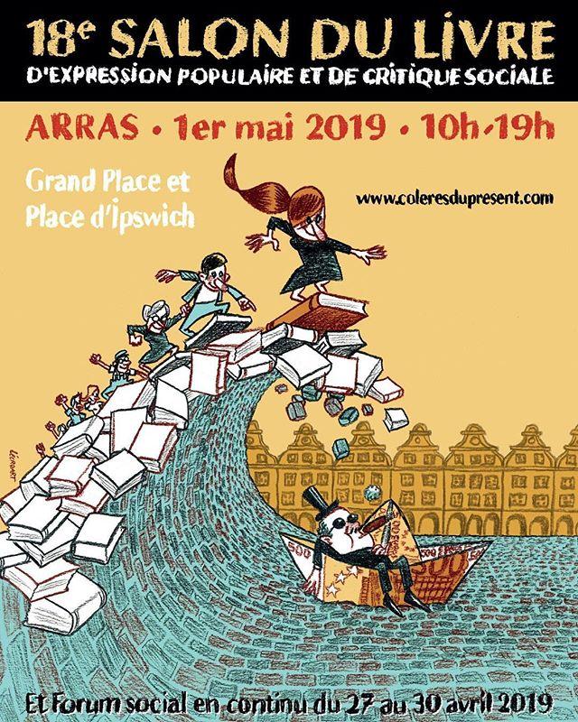 Je serai en conversation avec Fanny Chiarello au Salon du Livre d'Arras le 1er mai 2019. Hâte de vous y croiser. #cananbassinminier