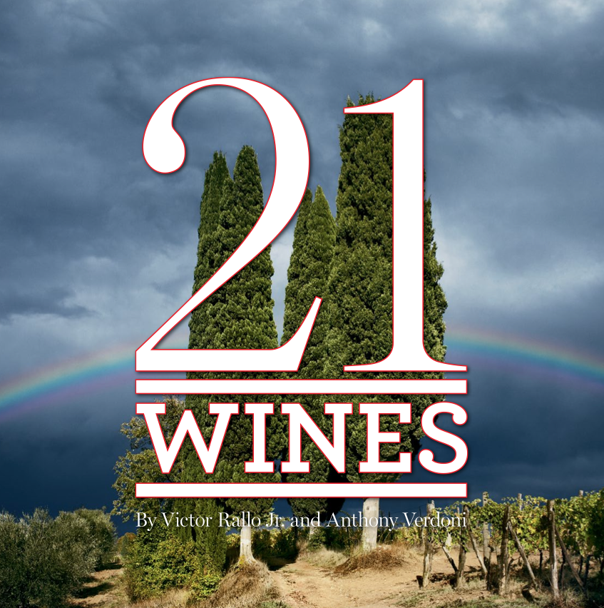 21 Wines by Victor Rallo Jr. and Anthony Verdoni
