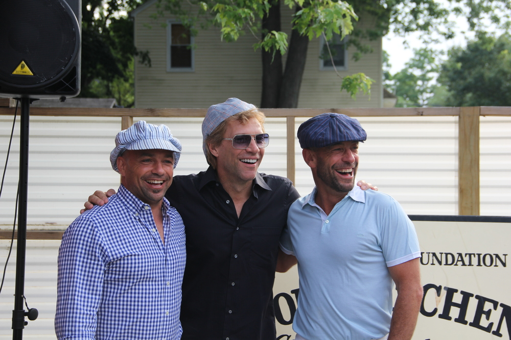 Vic & Bobby with Bon Jovi