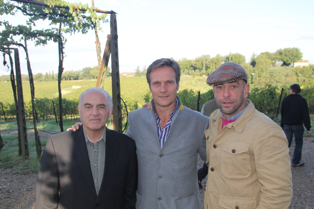 Vic, Anthony and Leonardo Bellacini - San Felice