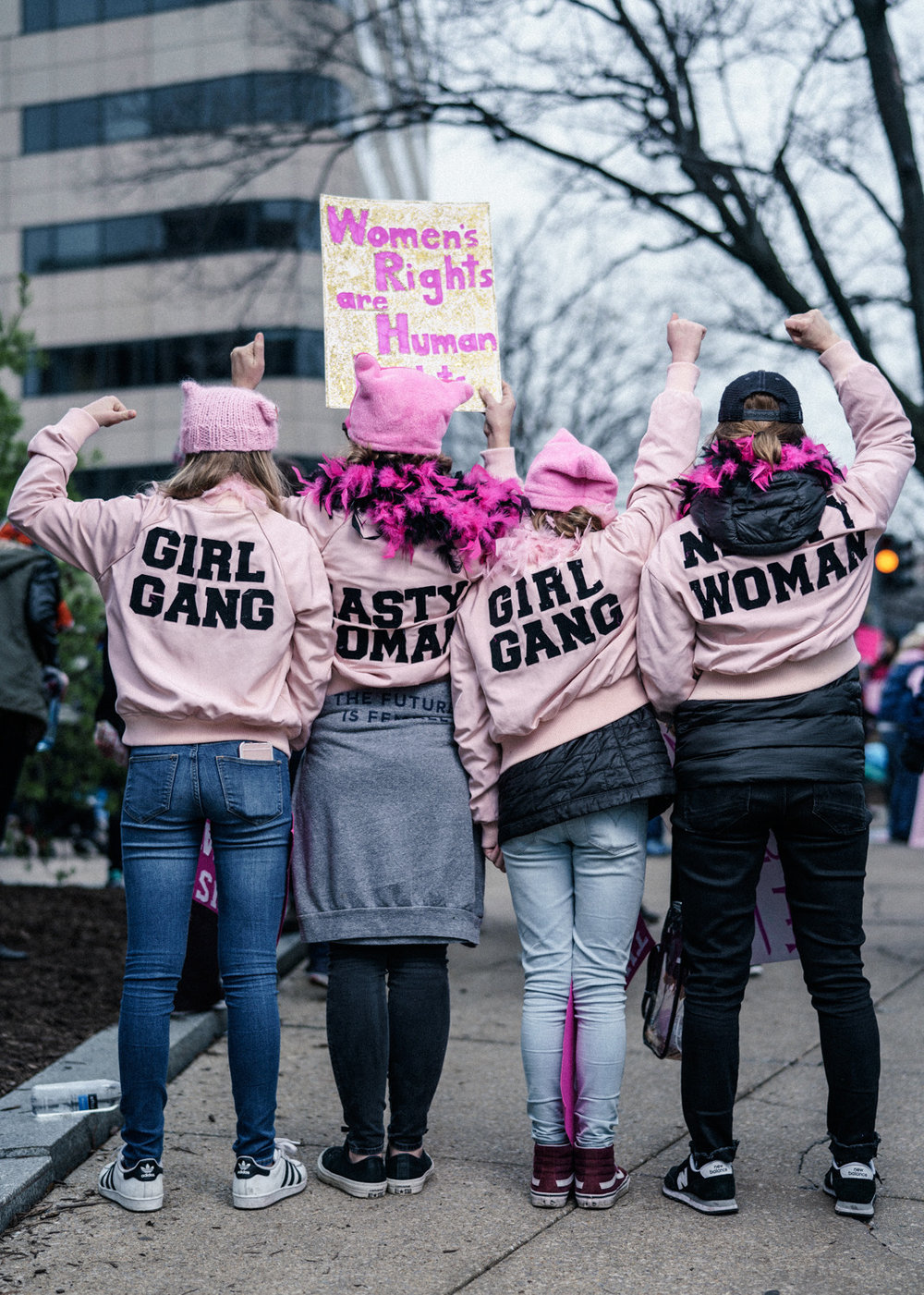 Girl Gangs rule - Washington
