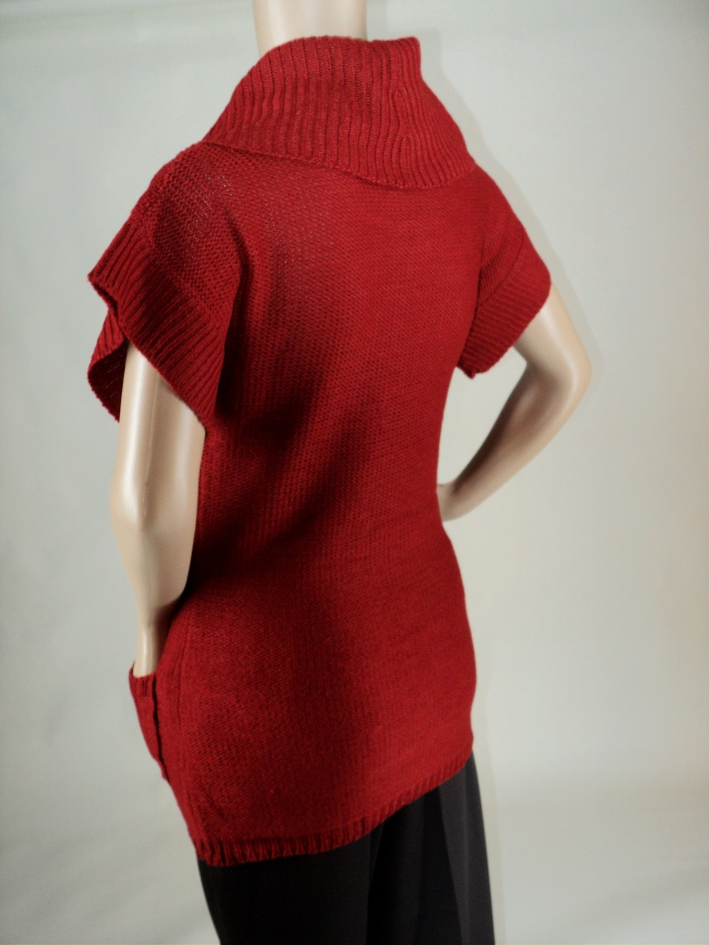 Rust Short Sleeve Sweater_Sideview.jpg