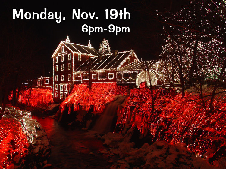 Clifton Mill Christmas Light Event — Professional Photographers of Ohio