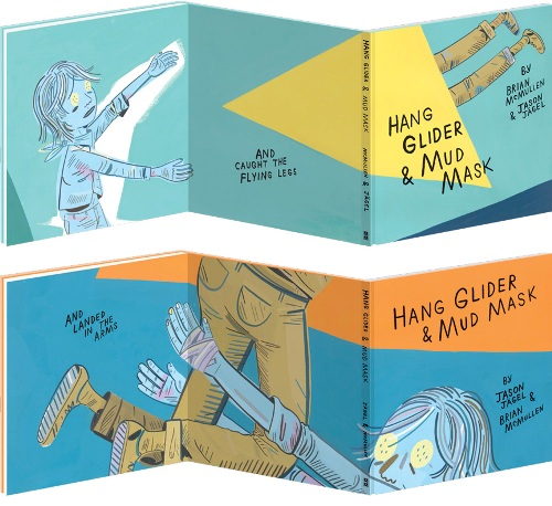 MCSWEENEY'S MCMULLENS commissions an original piece by Magik*Magik to accompany their new book Hang Glider & Mud Mask.