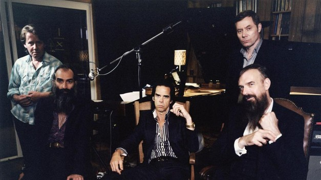 NICK CAVE AND THE BAD SEEDS  perform at Bill Graham Auditorium with children's choir and Magik*Magik string quintet on April 9, 2013.