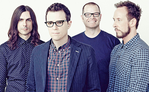 WEEZER  works with Magik*Magik to write a violin string arrangement for their San Jose Acoustic Show in Oct 2014.