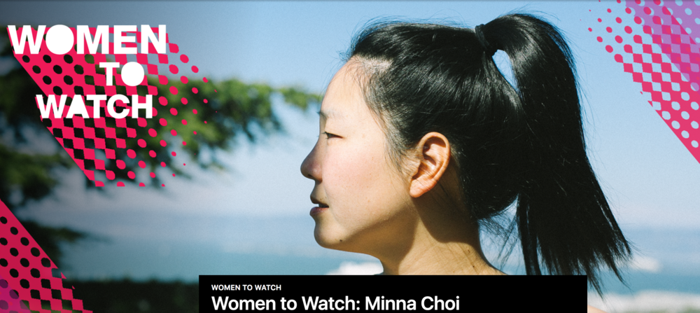 "Minna was profiled for KQED / NPR's ""Women To Watch"" series, click the photo to read the article and watch the accompanying video  here ."