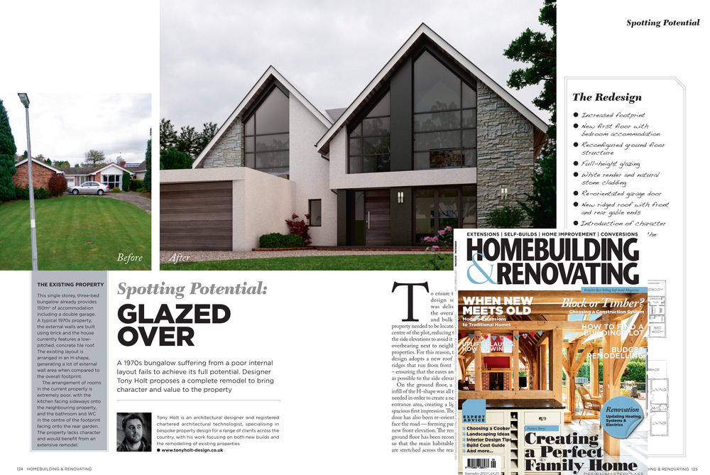 Tony holt article in home building and renovating magazine for Building a house blog
