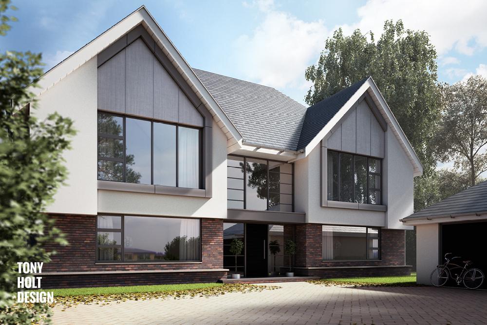Tony Holt Design for New Build in Rickmansworth — TONY HOLT DESIGN