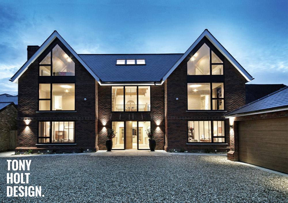 Tony Holt Design_Self Build_New Build_Maple House_External_01