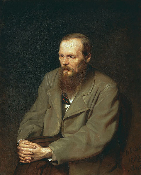 Or maybe you're a young Dostoevsky?