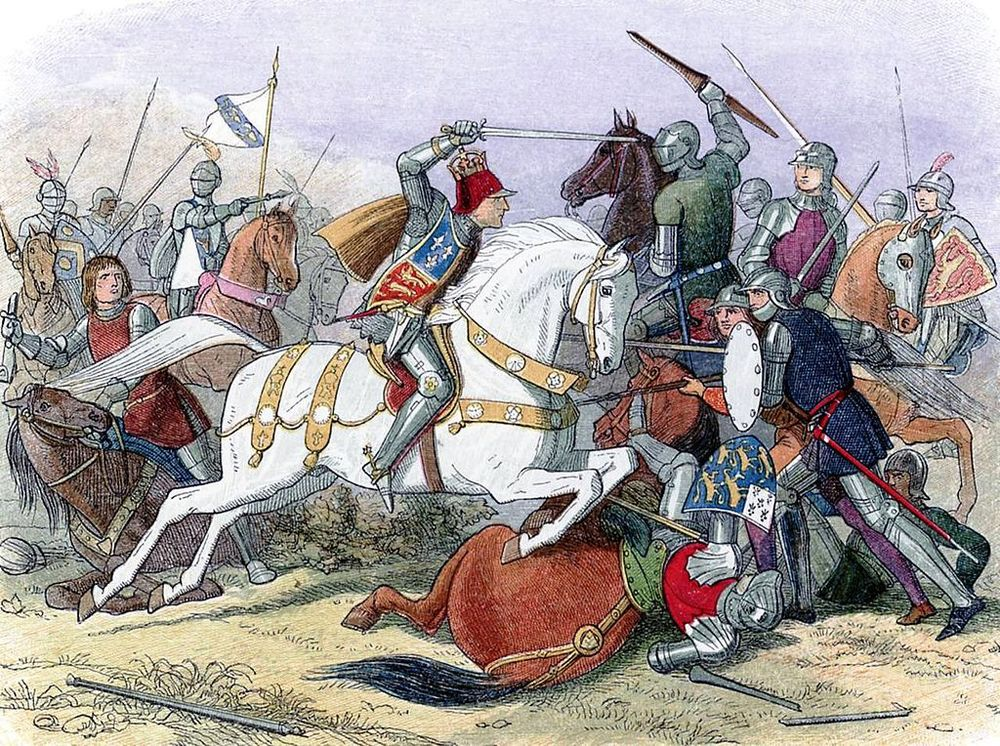 King Richard III at the Battle of Boswoth Field by James Doyle