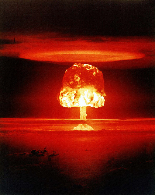 Castle Romeo (yield 11 Mt) - an atmospheric nuclear test carried out by the U.S. on 1 March 1954 at Bikini Atoll, Marshall Islands. It was the third largest test ever detonated by the United States. Joining us won't be that dramatic. But it will be fun!