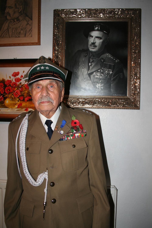 Ex 2nd Polish Corps combatant Jósef Królczyk