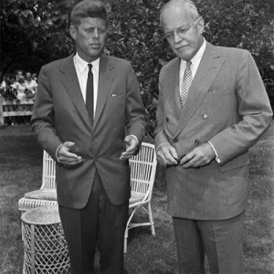 President Kennedy and DCI Allen Dulles