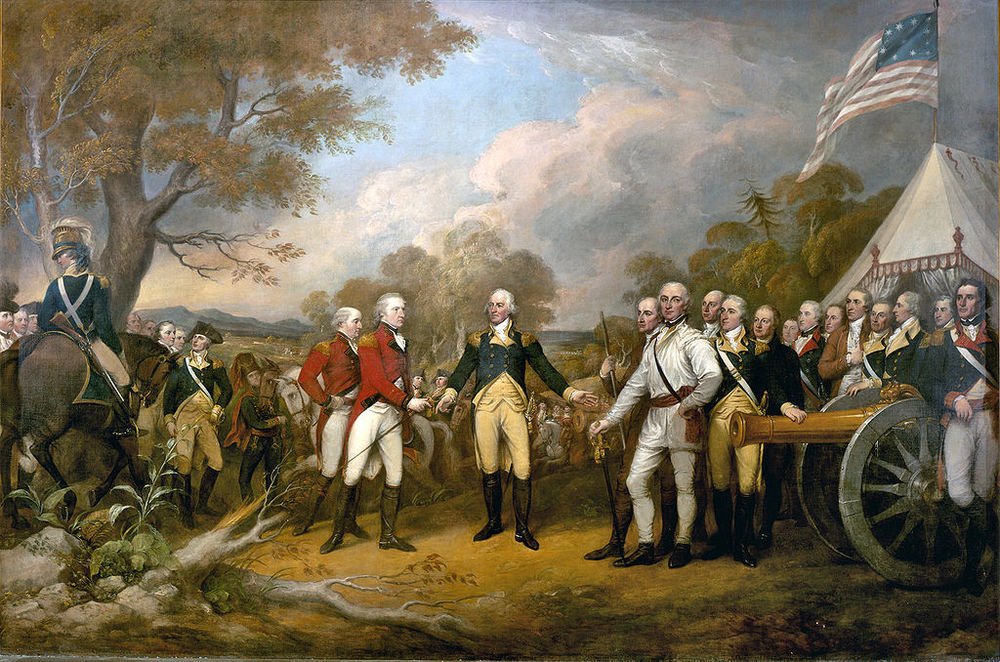 A major decision taken by General Burgoyne in 1777. But what did he do?