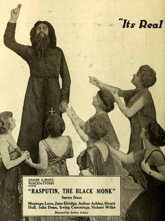 "Mythical powers? A book ""Rasputin, the black monk."""