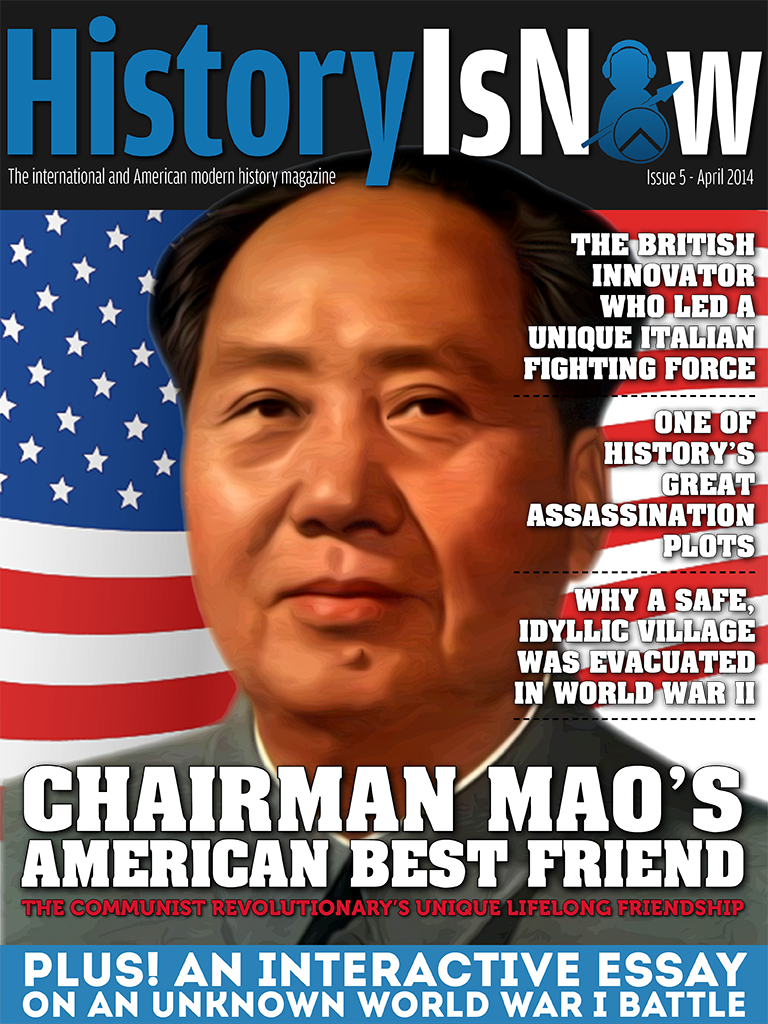 the amazing story of chairman mao s american best friend hin mag the amazing story of chairman mao s american best friend hin mag issue history is now magazine podcasts blog and books modern international