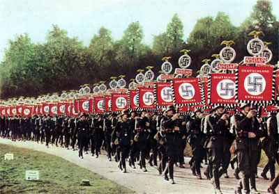 A Nazi parade.