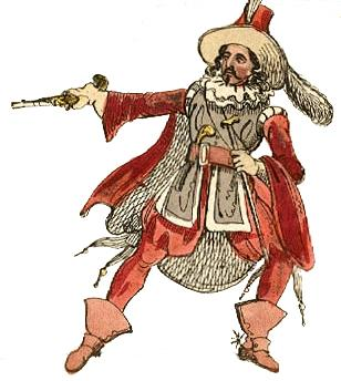 "A depiction of plotter Guy Fawkes from ""Guy Fawkes - The Fifth of November a Prelude in One Act."" The play was performed in 1793 at the Theatre Royal, Haymarket, London."