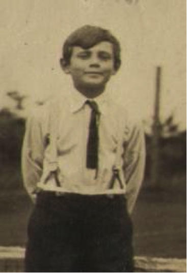 George Mikhailovich as a young boy.