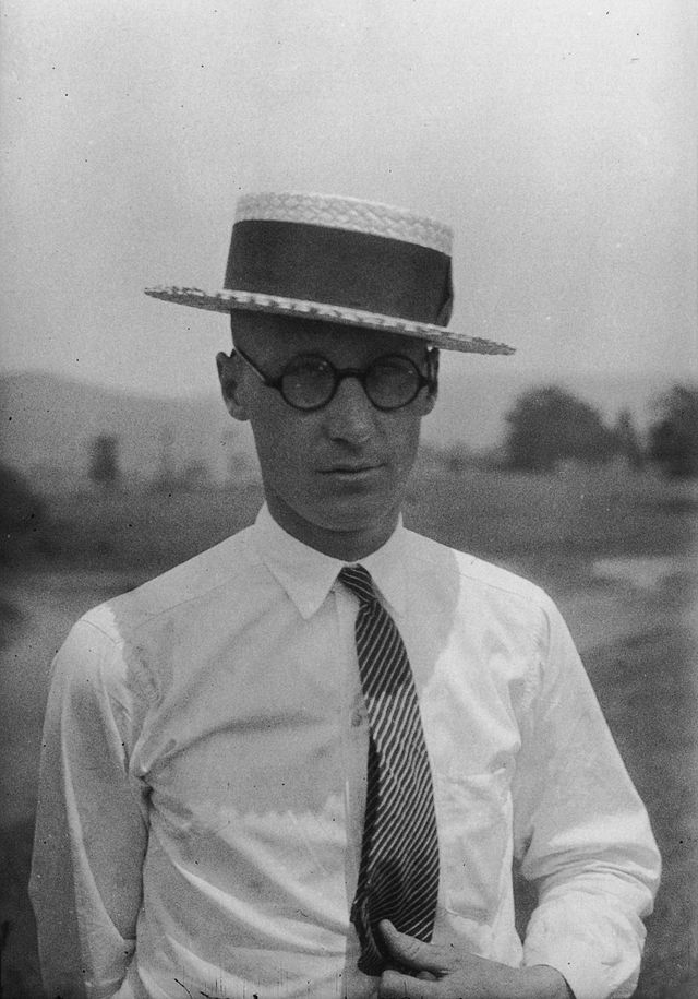 John T. Scopes in 1925