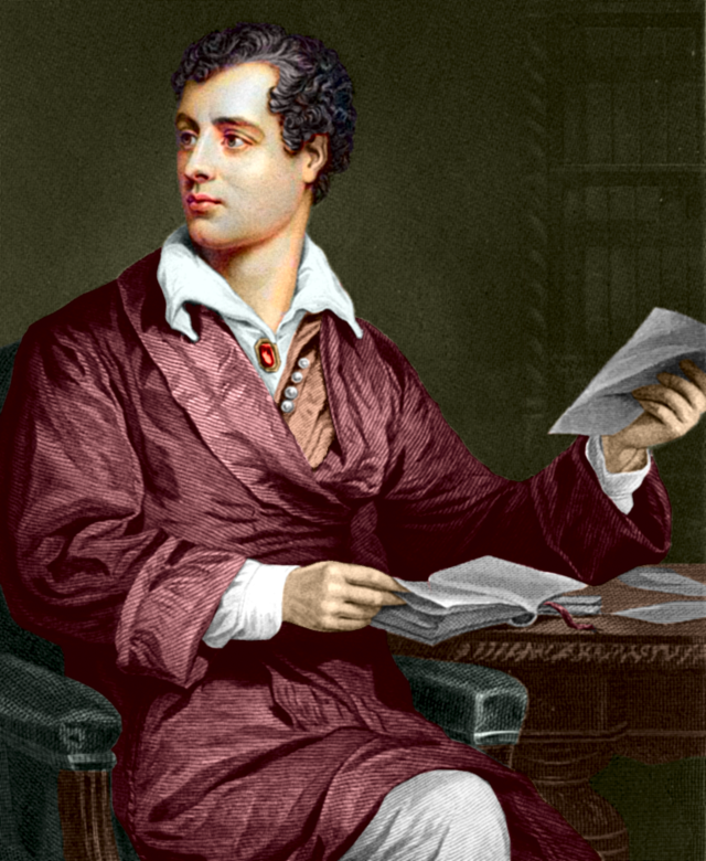 Lord Byron.