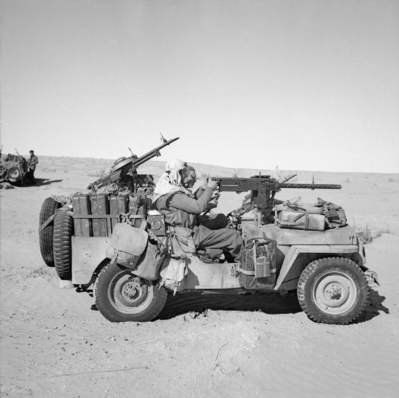 An LRDG patrol during the Desert Campaign.