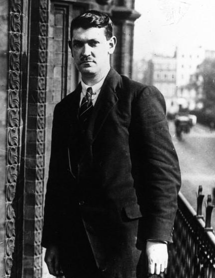 Michael Collins in London in 1921.