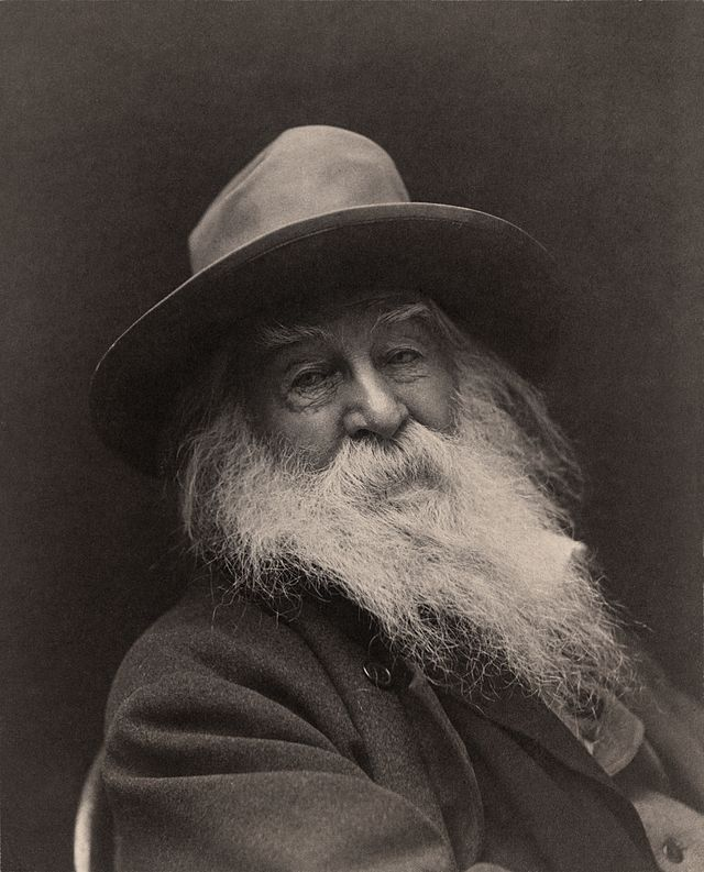 Walt Whitman by George Collins Cox in 1887.