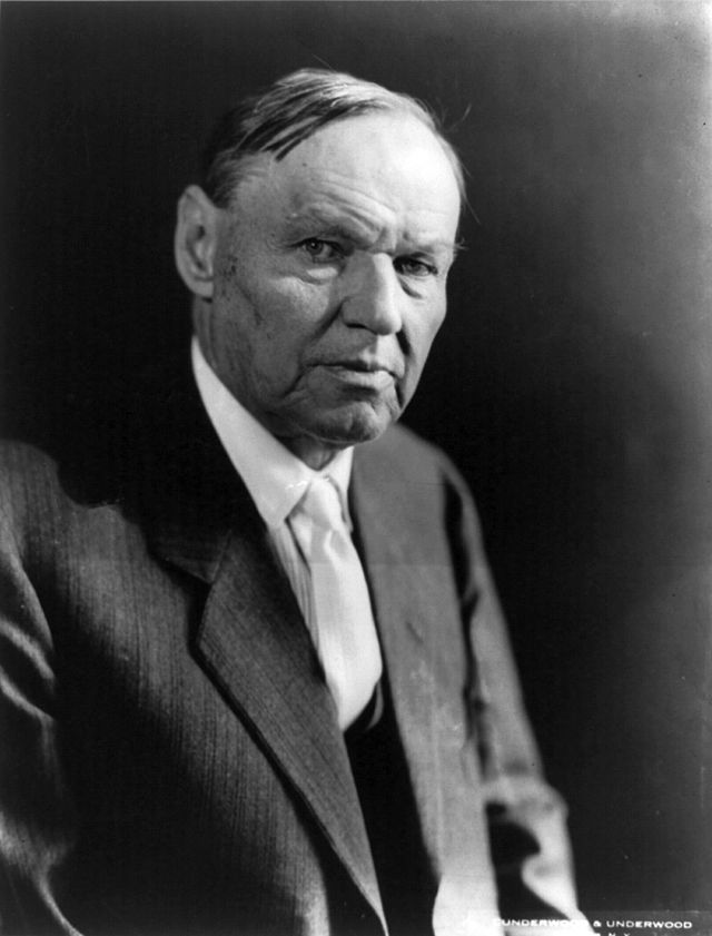 Clarence Darrow, defense attorney in the Scopes Trial.