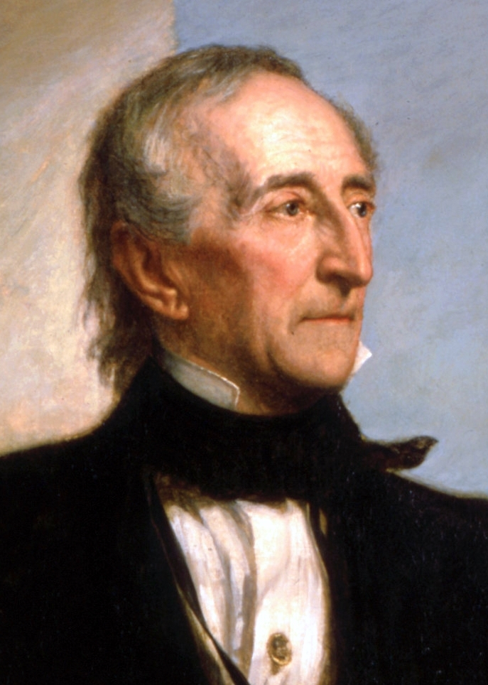 A portrait of John Tyler.