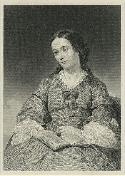 A nineteenth century engraving of Margaret Fuller.